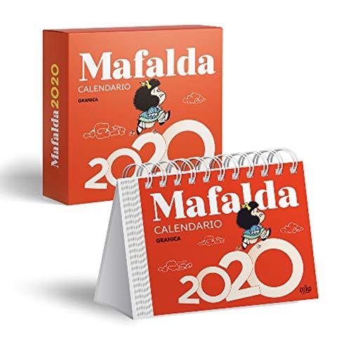 Mafalda 2020 calendario caja (rojo)