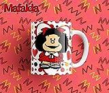 Tazas de Mafalda unidad regalo desayuno cumpleaños amiga invisible