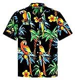 Camisa Hawaiana | Hombre | Señores | 100% Algodón | Talla S - 8XL | Manga Corta | Muchos Colores | Animales | Loros | Tortugas | Tropical | Aloha | Playa | Palmas | Camiseta Hawaiiana | Hawaii