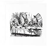 3dRose Mad Hatter Tea Party Illustration By John Tenniel Alice in Wonderland, Greeting Cards, Set of 6 (gc_193788_1)