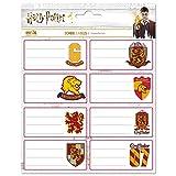 Harry Potter Pack 16 Etiqueta 8x4cm