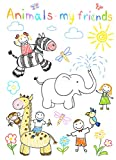 Notebook Kids Paint brushes exercise books and notes for children from 2-6 years