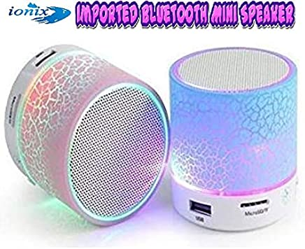 Ionix Imported Wireless Bluetooth Speaker Small Portable for All Smartphones