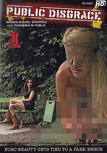 Euro Beauty Gets Tied To A Park Bench (Public Disgrace) (KINK.com)