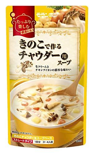 モランボン きのこで作るチャウダー用スープ 750g ×5袋