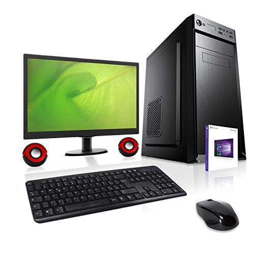 DILC Airo Plus Pc Desktop Intel Quad Core 2.00 ghz Ram 16 gb Hard Disk 1 tb WiFi Masterizzatore Monitor 22