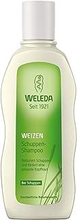 WELEDA Weizen Schuppen-Shampoo, Naturkosmetik Duschgel für die Pflege der Kopfhaut und zur Entfernung von Schuppen, Anti-Schuppen Pflegedusche mit Vitamin E 1 x 190 ml