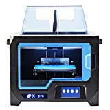 qidi Technology 3d impresora New Model X – Pro, 4.3 inch Touch Screen, Dual extruder with 2 Spool of filamento, Works with ABS and PLA