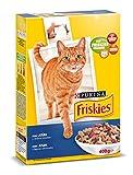 Purina Friskies Pienso para Gato Adulto Atún y Verduras 20 x 400 g