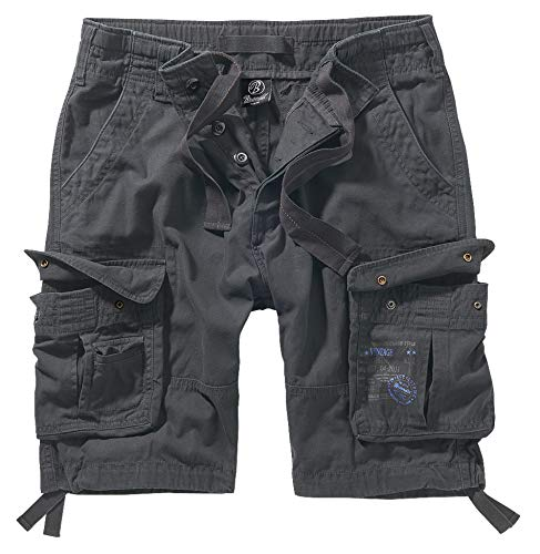Brandit Pure Vintage Shorts, Anthrazit XXL