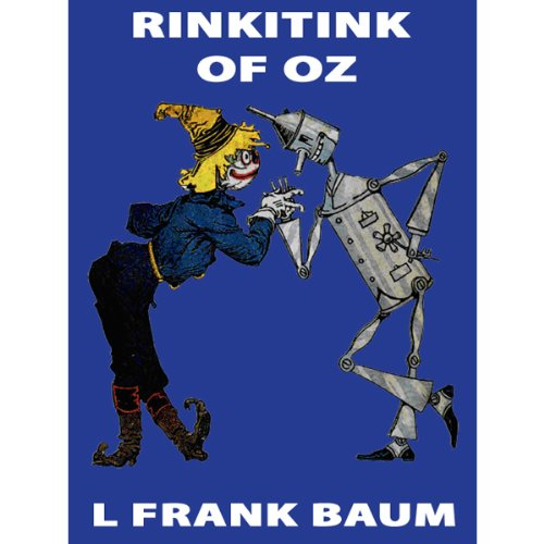 Rinkitink of Oz audiobook cover art