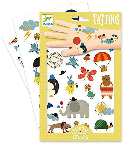Abzieh-Tattoos Tiere