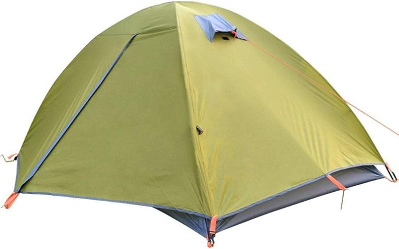 LINDANIG La Tente de Camping de 2 Personnes campant la Double Prougeection de Pluie prougeégeant la Tente a Besoin d'être assemblée pour des Sports en Plein air, Parasol