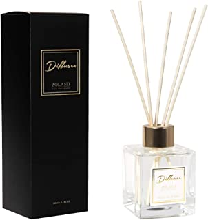 TIYOLE Reed Diffuser Sets Aromatic Stress Relief Diffuser Room Diffusers with Sticks Bedroom Decorations Refreshing Gift Idea