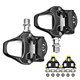 SUPOW Ultralight PD-R97 Bike Pedal Bicycle Platform Pedals Aluminum Alloy Bike Road Pedals