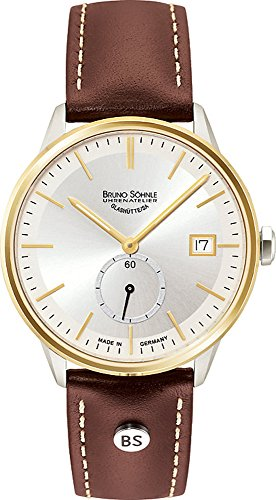 Bruno Söhnle Damen Analog Quarz Uhr mit Leder Armband 17-23183-241