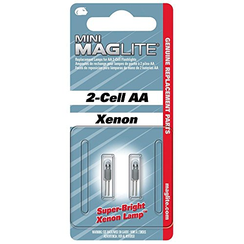Maglite LM2A001 2-Cell AA Replacement Lamp