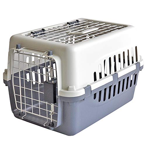 【 IATA 基準クリア】ペットキャリーバッグ50 グレー 猫用・小型犬用・小動物用にも(ねこ・猫・ネコ・い...