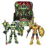 Figuras de acción Famosa-Gormiti Serie2 Figura con luz y sonido, de 25 cm, modelo aleatorio, venta por separado 1 unidad, color surtido, (GRE04000)
