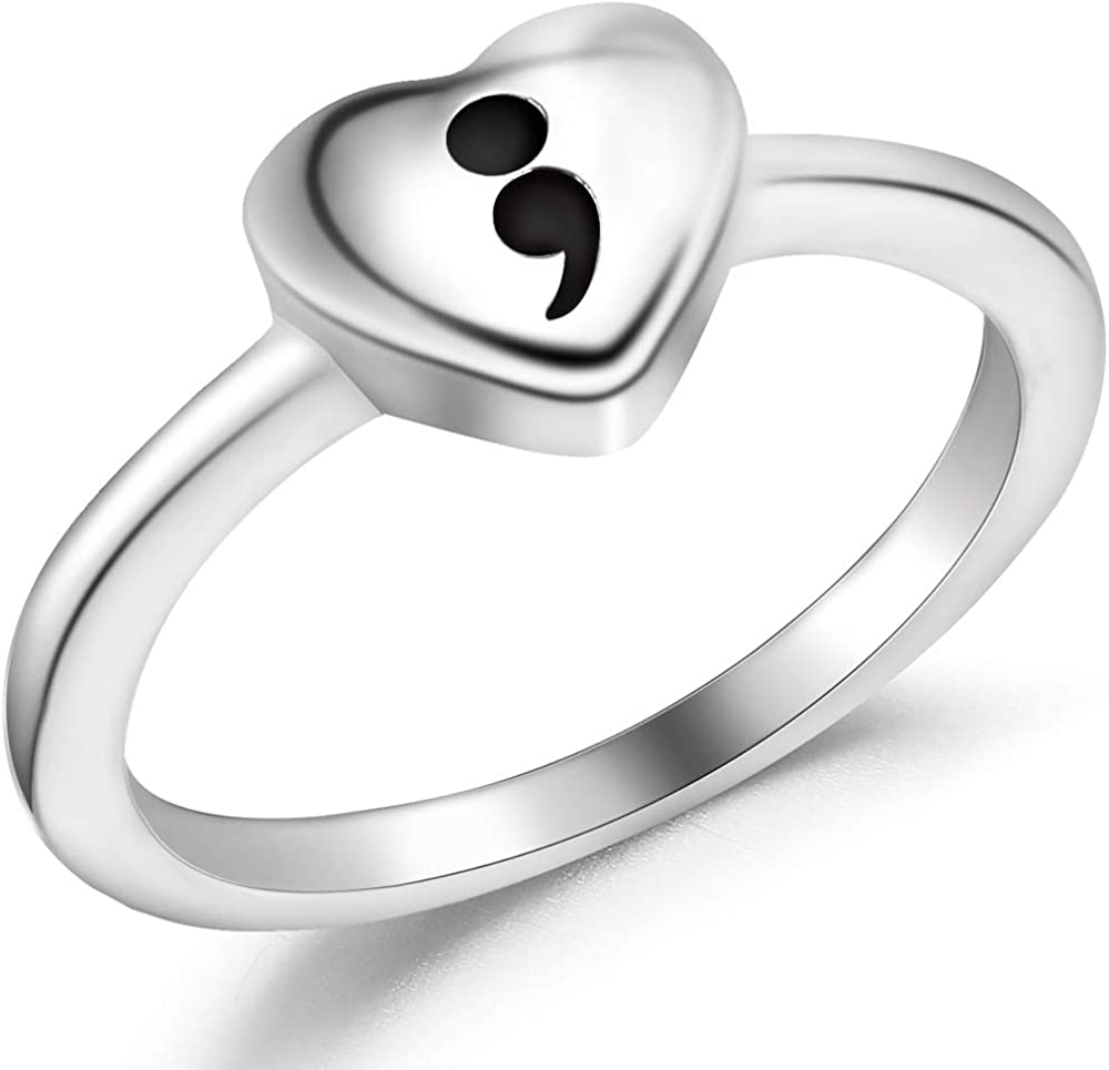 Stainless Steel Heart Shape Mantra National uniform free shipping Smicolon Inspirational Max 77% OFF Statem