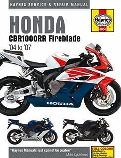 Haynes Repair Manual for Honda CBR1000RR Fireblade (2004-2007)