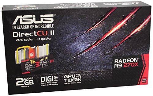 Asus R9270-DC2-2GD5 - Tarjeta gráfica de 2 GB con AMD Radeon R9 270 (gddr5,...