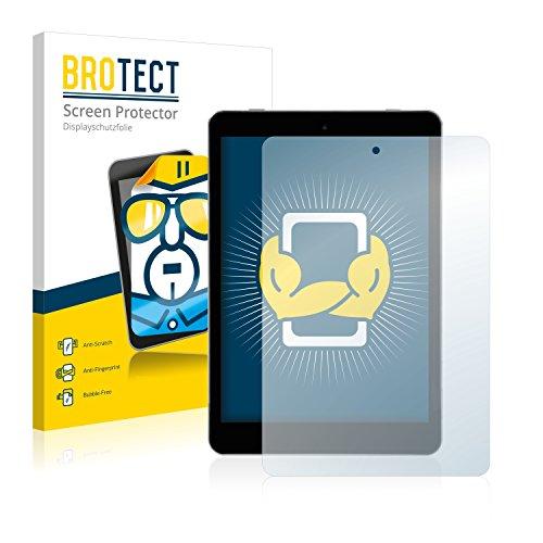 BROTECT Schutzfolie kompatibel mit Kiano SlimTab 8 (2 Stück) klare Bildschirmschutz-Folie