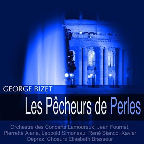 Orchestre des Concerts Lamoureux, Jean Fournet, Pierrette Alarie, Léopold Simoneau