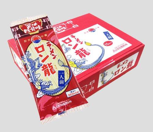 ロン龍ラーメン 醤油豚骨味 1人前15入 ノンフライ麺
