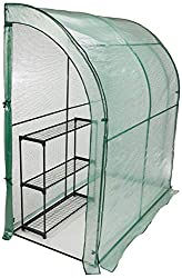 CO-Z Lean to Greenhouse Walk in, Portable Mini Green House Review.