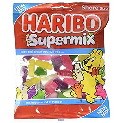 haribo supermix sweets, 140g pack of 12 (1.7kg) Haribo Supermix sweets, 140g pack of 12 (1.7kg) 51UHrlHsphL