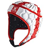 Gilbert Falcon 200 Angleterre Enfants - Casque de Rugby - Rouge/Blanc - taille LB