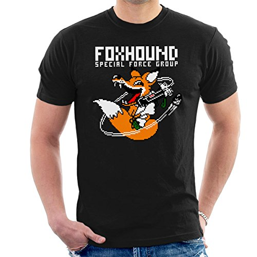 Foxhound Special Forces Metal Gear Solid White Men's T-Shirt