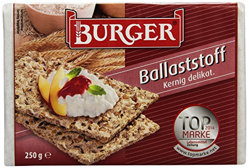 Burger Knäcke Ballaststoff, 24er Pack (24 x 0.25 kg)