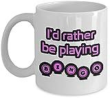 Tazza regalo giocatore di bingo stampa rosa