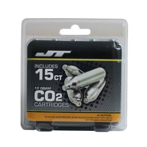 JT 12gram CO2 Cartridges - 15ct
