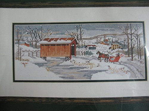 The Covered Bridge Counted Cross Stitch Kit Elsa Williams