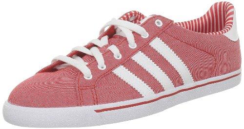 adidas Originals Court Star Slim W - Zapatillas de Tela para Mujer Rojo Rojo 39 1/3