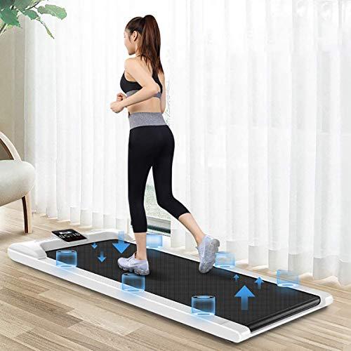 GXLO Multifunktionale Gehmaschine Ultra Thin & Silent Flach Tretmühle Einfache Folding Gehmaschine Haushalts Gym Fitnessgeräte