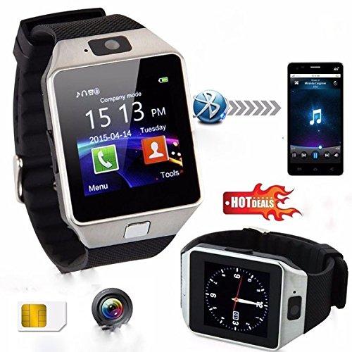 Bluetooth Smart Watch Telefoon & Camera Ondersteuning SIM-kaart voor Android /IOS Telefoon DZO9-3 Jaar GARANTIE!