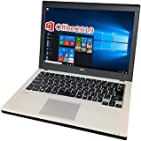 NEC ノートPC VB-P/12.5型/MS Office 2019/Win 10/Core i5-6200U/HDMI/SIM/WIFI/8GB/256GB SSD (整備済み品)