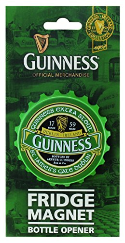 Screwcap apribottiglie, calamita, Guinness Ireland Collection