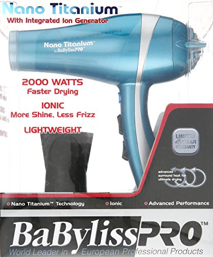 Beauty Shopping BaBylissPRO Nano Titanium Hair Dryer