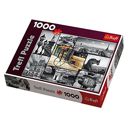 Trefl - 58356 - Puzzle Classique - Paris - 1000 Pièces