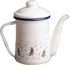 lijun Kuchnia Catering dzbanek do herbaty czajnik emalia woda kawa dzbanek do herbaty łatwe podlewanie