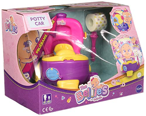 The Bellies - Bellies Potty Car, Accesorio para Niños y Niñas a Partir de 3 Años, Multicolor, (Famosa 700015140)