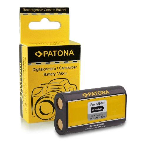 PATONA Bateria CR-V3 Compatible con Kodak EasyShare C300 C360 C530 C663 C743 C875