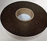 J.V. Converting FELT-06/BLK1.5x75 ft Polyester Felt Tape, Black - 1 roll