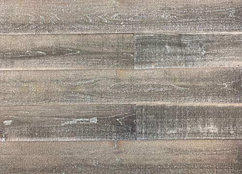 Easy Planking E-105 Antique Thermally-Modified Barn Wood Wall Planks, 6 Piece