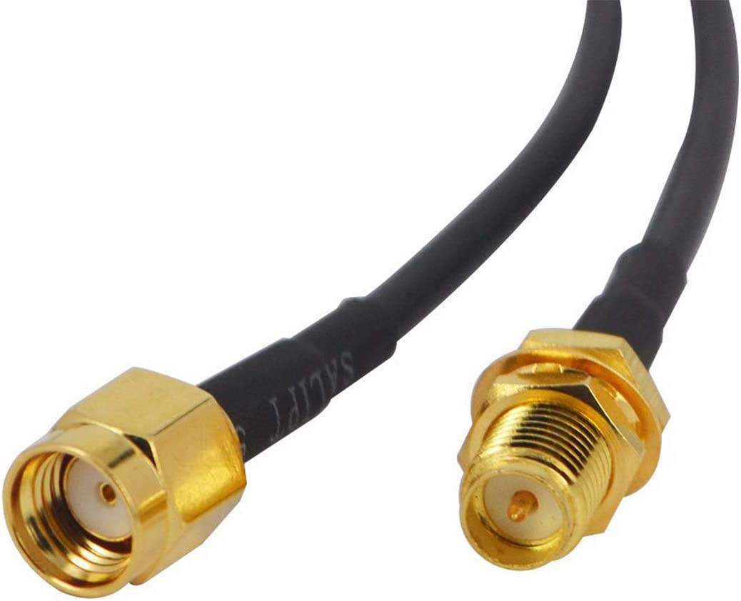 6m HiSKY Universal RP-SMA RP SMA WIFI Antenna Extension Cable Wire for Wireless Wi-Fi Router Adapter